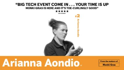 Monki Gras 2017: Arianna Aondio – Sorry, but wouldn't package-free be the most convenient?