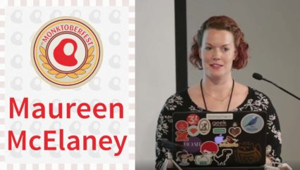 Monktoberfest 2016: Maureen McElaney – Beer: Not Just for Your Devs