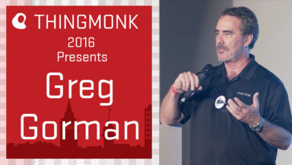 ThingMonk 2016: Greg Gorman – The Power of One