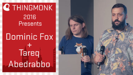 ThingMonk 2016: Dominic Fox & Tareq Abedrabbo – Concurus
