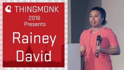 ThingMonk 2016: Rainey David – Watson and Alexa Hack at ThingMonk