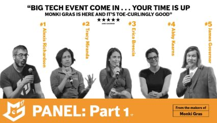 Monki Gras 2017: Panel – Part 1 – Introduction