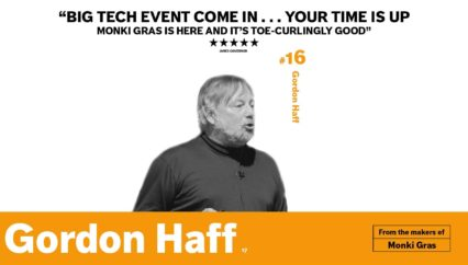 Monki Gras 2017: Gordon Haff – A short history of packaging