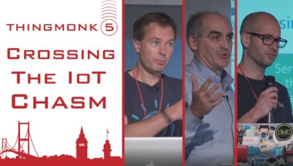 Crossing the IoT Chasm | Martin Gale | Andy Stanford-Clark | Charlie Isaacs | Thingmonk 2017