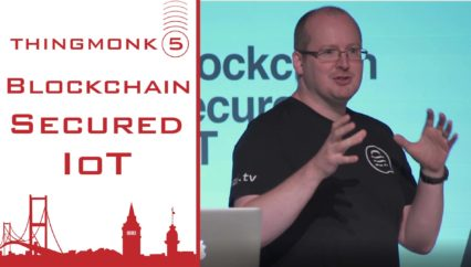 Blockchain Secured IoT – | Joe Pindar | Thingmonk 2017