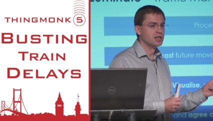 Busting Train Delays | Kamil Backowicz | Thingmonk 2017