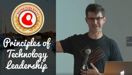 Principles of Technology Leadership | Bryan Cantrill | Monktoberfest 2017