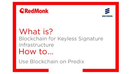 What is Blockchain for Keyless Signature Infrastructure? How to Use Blockchain on Predix