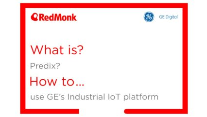 What is Predix? How to use GE's industrial IoT platform