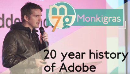 20 year history of Adobe | Lars Trieloff | Monki Gras 2018
