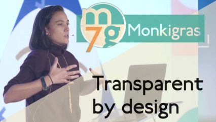 Transparent by design | Pia Mancini | Monki Gras 2018