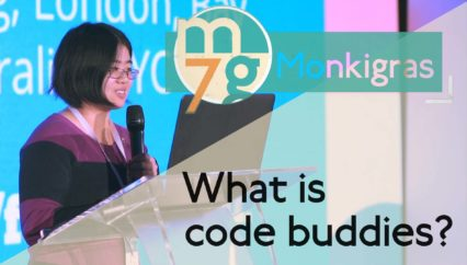 What is code buddies? | Linda Peng | Monki Gras 2018