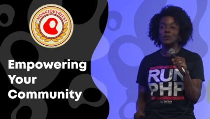 Empowering Your Community   Leah McGowen-Hare   Monktoberfest 2018